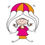 parachute girl 150